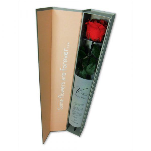 """Rose éternelle rouge """"Prestige"""""""